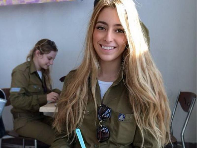 Девушки в Изральской армии: самая красивая армия в мире