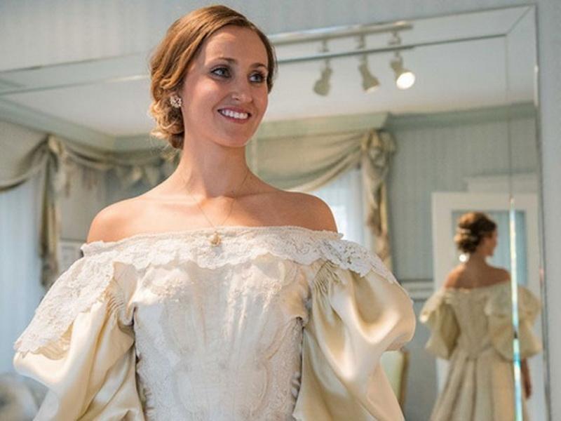 Свадебное платье со 120-летней историей в очередной раз оказалось под венцом
