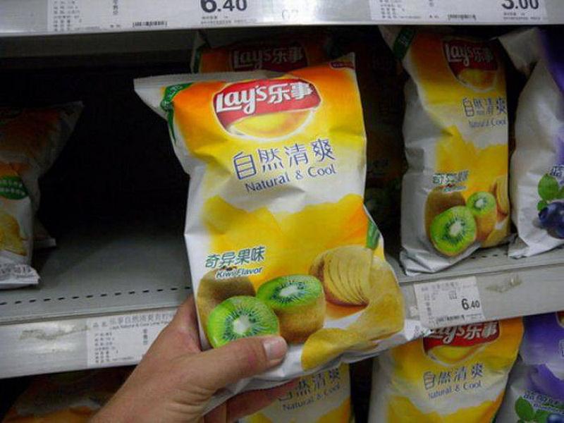 Самые необычные продукты в заграничных супермаркетах