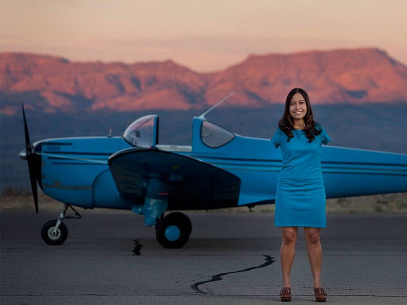 Единственная в мире женщина-летчик без рук