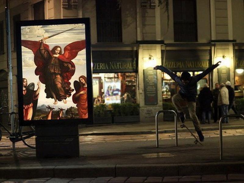 Город без рекламы: проект, в котором на билбордах красуются классические картины