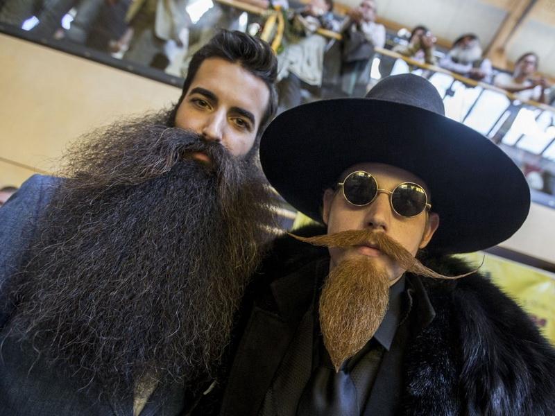 Фото со Всемирного чемпионата бород и усов 2015