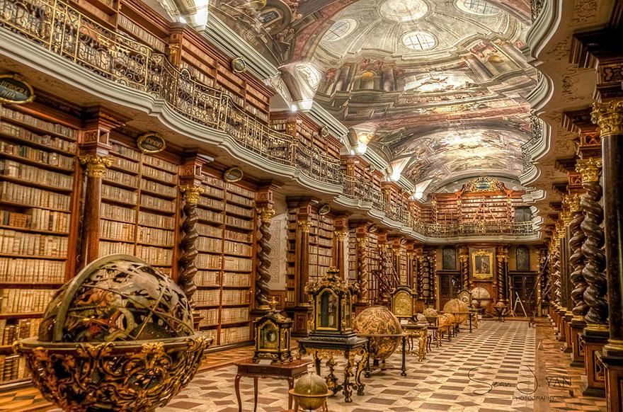 Klementium-samaya-krasivaya-biblioteka-v-mire-i-v-Prage-7