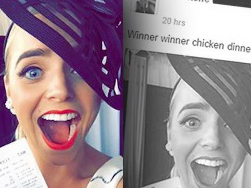 Лузер года: девушка, которая потеряла выигрыш, потому что выложила фото своего билета в Фейсбук