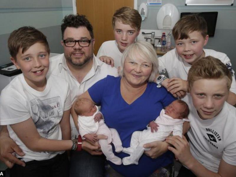 Самая удивительная семья или каково это быть мамой 3 пар близнецов
