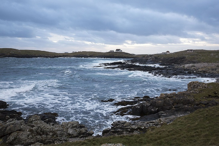 10-year-old boy who lives on remote island is budded' Britain's loneliest schoolboy', Out Skerries, Scotland - 20 Nov 2015
