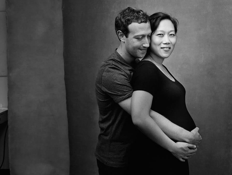 У Цукерберга родилась дочь. Он отдает 99% своих акций Facebook ценой в $45 млрд на…