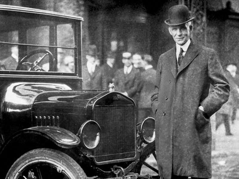 А вы знали, что Генри Форд платил своим ремонтникам не за работу, а за время отдыха?