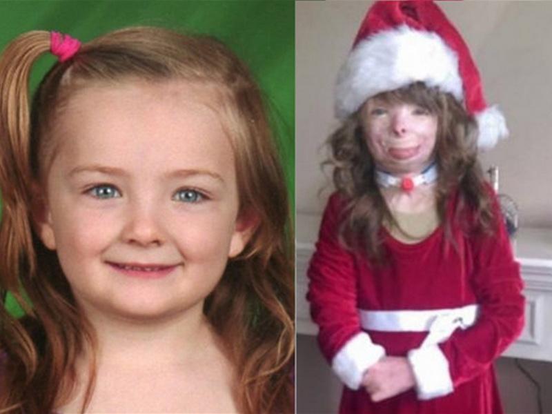 Ее семья погибла при пожаре. Сейчас девочка просто просит прислать ей открытку на Рождество…