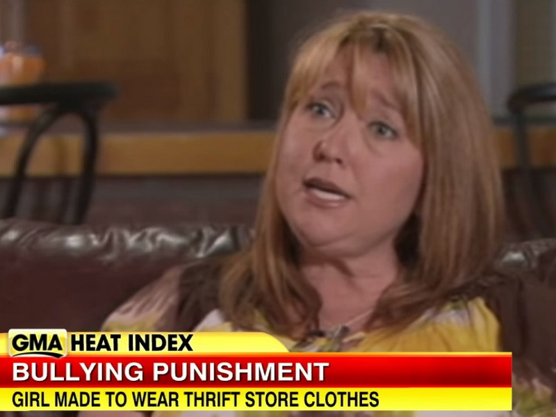 Родители узнали, что их дочь жестоко дразнит одноклассницу. Тогда они придумали для нее необычное наказание