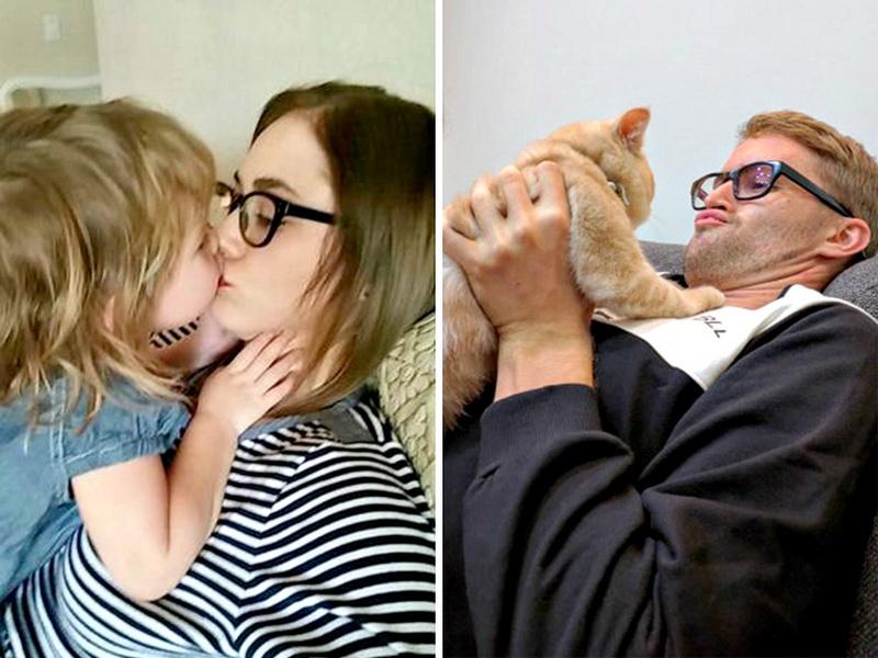Парень сделал пародии фотографий своей сестры. Получилось просто супер!