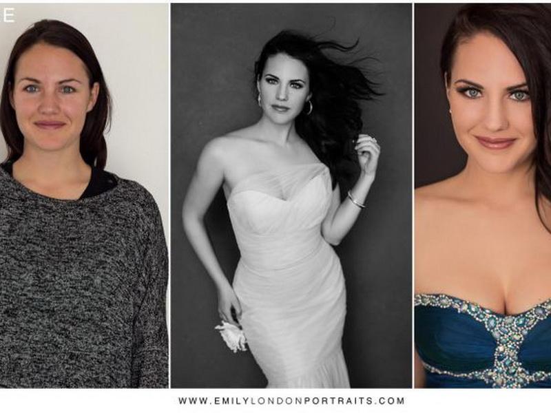 Фотограф смогла доказать, что с правильным макияжем и прической любая женщина становится красавицей