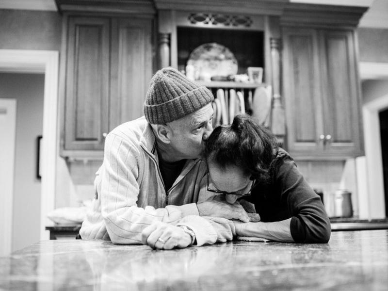 Без слез на эти фото смотреть нельзя… Последний год жизни любящей супружеской пары