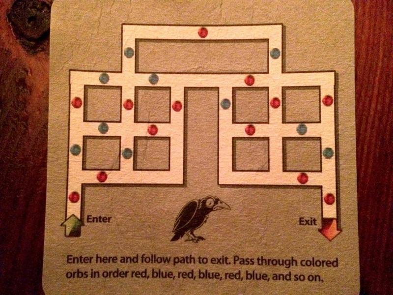 Интересная головоломка про пьяную ворону