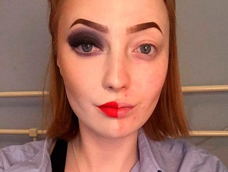 Было стало макияж фото