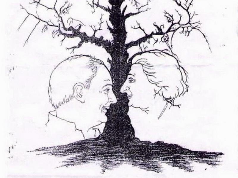 Сколько лиц изображено на рисунке? Головоломка, которая покорила Интернет