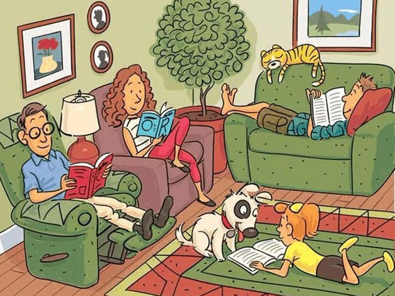 А вы сможете найти на этой картинке 6 слов?
