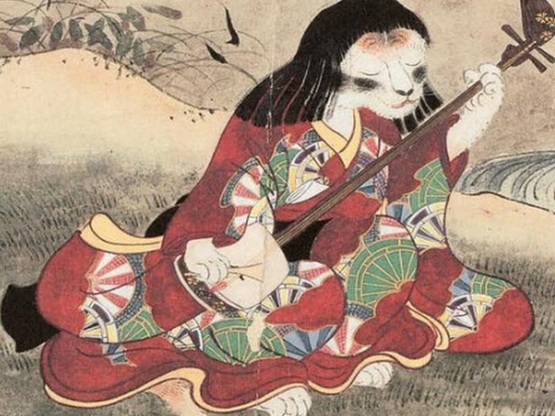 Когда-то в этих странных мистических кошек верили люди!