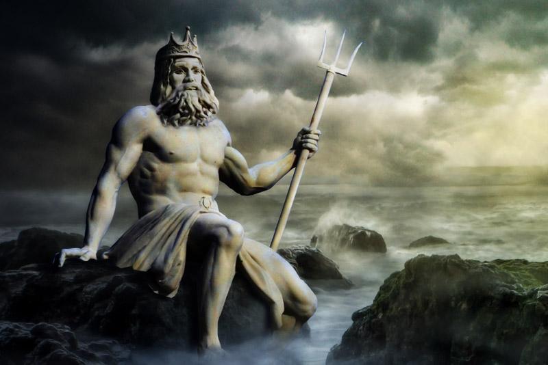 В один прекрасный день Нептуну захотелось выпить с кем-то из живых людей…