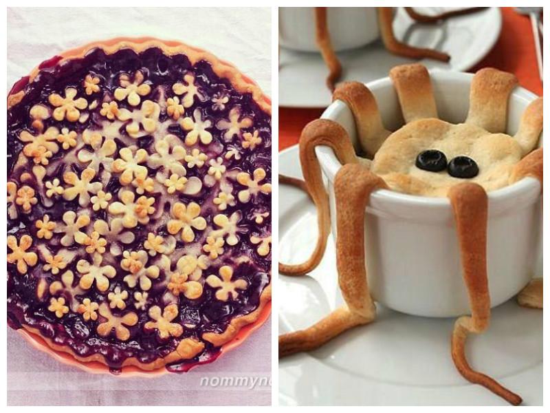 Эти пироги такие красивые и такие оригинальные, что их даже есть жалко!