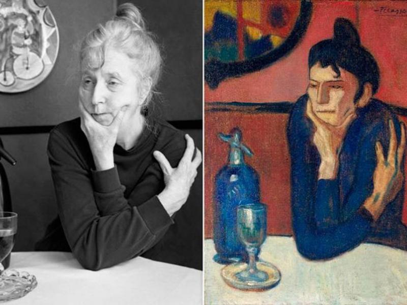 Ей 65 лет, и она воссоздает знаменитые картины, преследуя необычную цель…