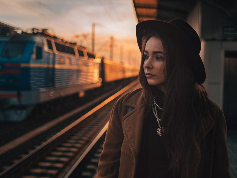Однажды ехала в поезде. Эта история вызывает у меня гордость!