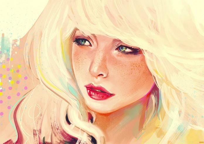 Смотреть картинки блондинок