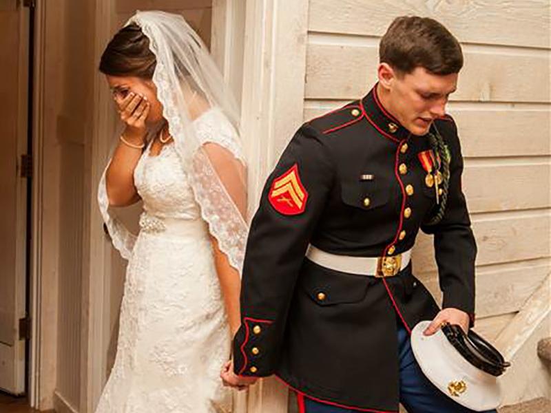 Поступок молодых перед свадьбой трогает и поражает своей необычностью
