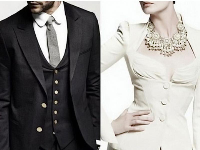 Почему мужская одежда застегивается направо, а женская — налево?
