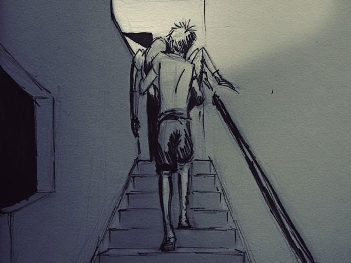 Мужчина создает рисунки, посвященные каждому дню, который он проводит с любимой...