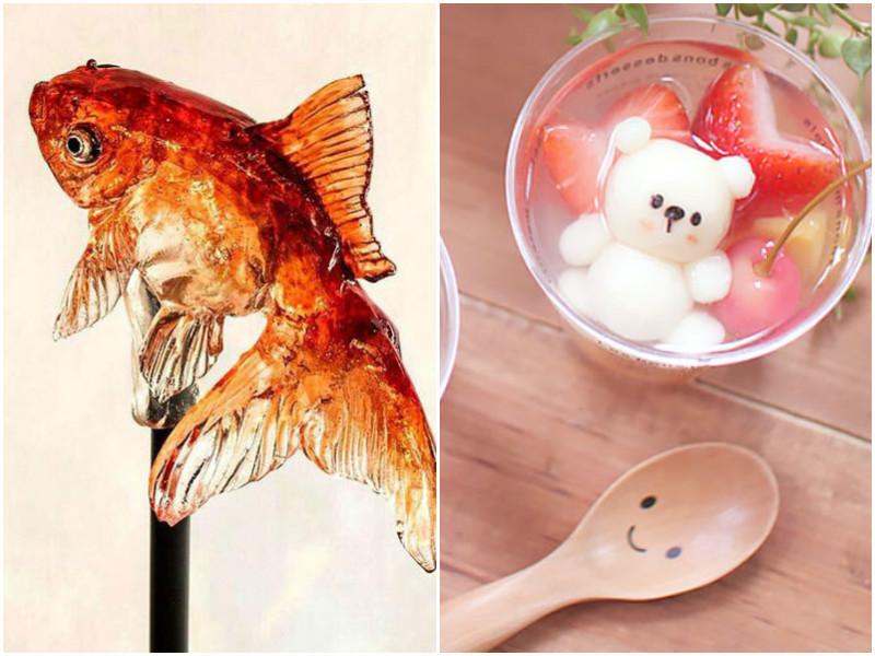 Самые необычные и милые японские сладости!