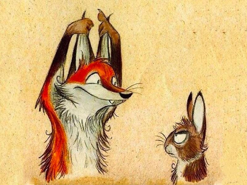 Самый лучший анекдот про зайца! Ржал весь вечер!