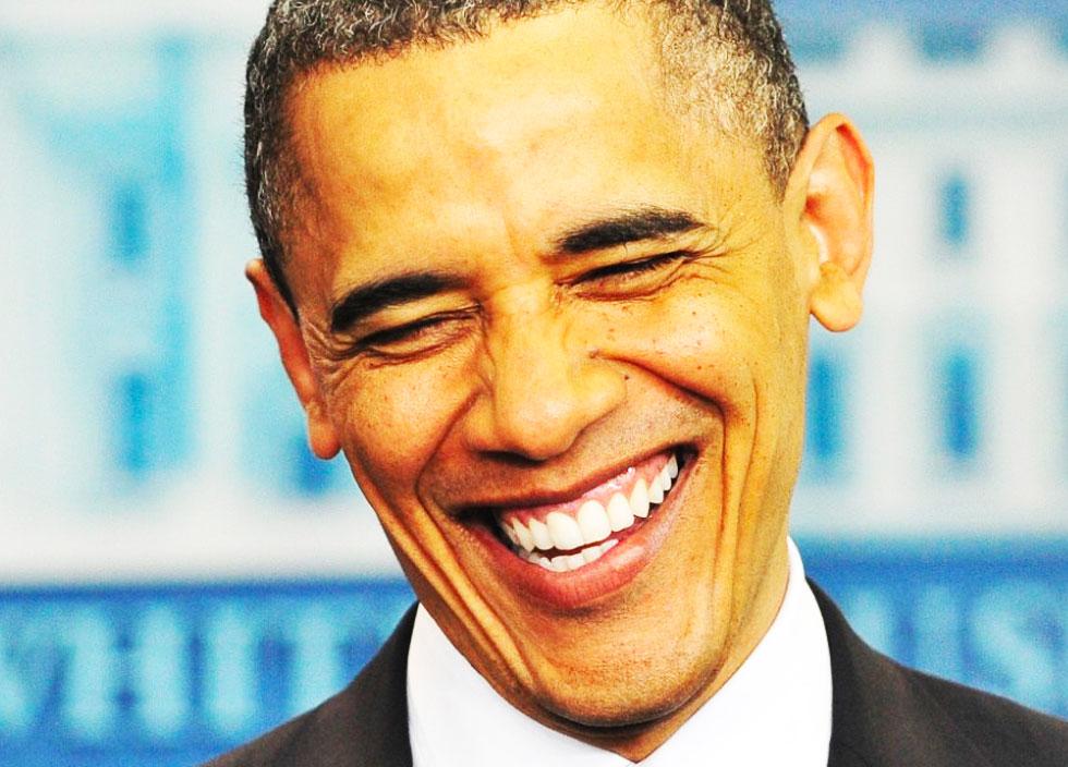 Анекдот про Обаму от Митта Ромни!