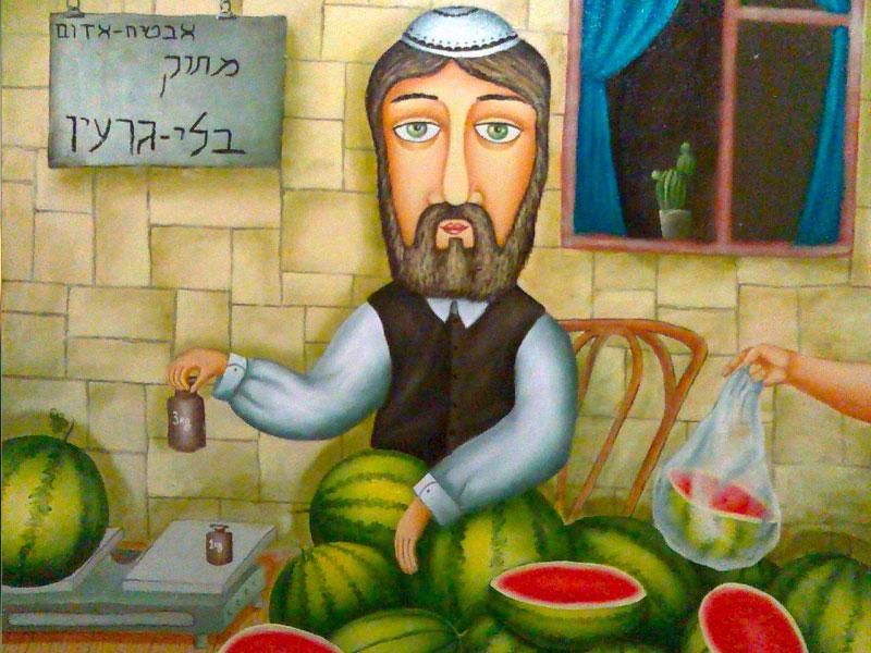 Рабинович продавал арбузы. Когда мужик решил его взуть — ты не поверишь!