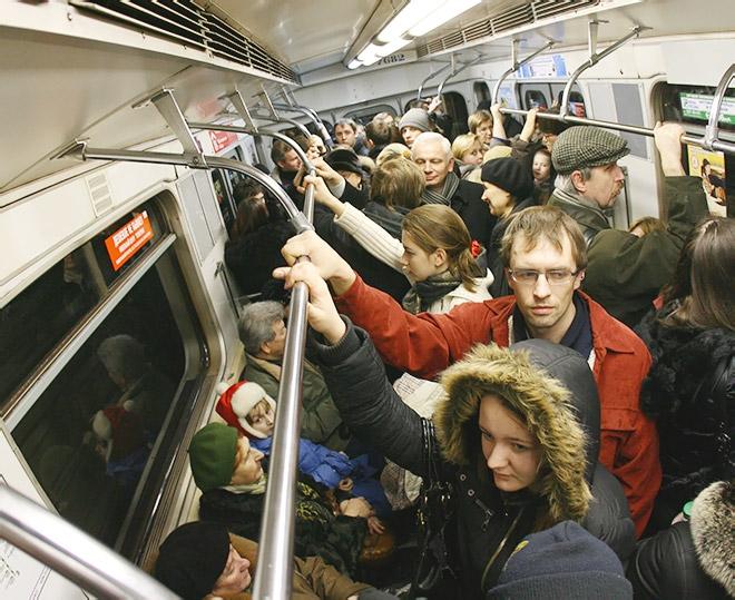 Еду в метро… Хрясь по морде… Обознался!?!