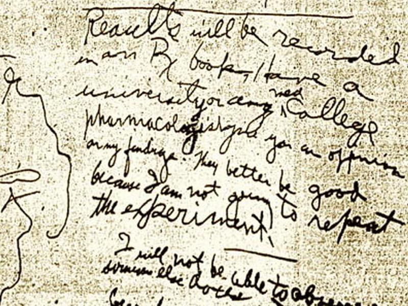 Дневник смерти: последние записи умирающего, сделанные на стенах его комнаты