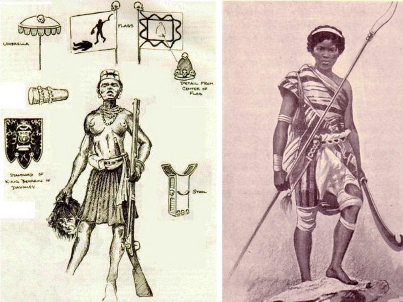 Амазонки из Дагомея – самые жестокие женщины-солдаты, наводящие ужас на врагов