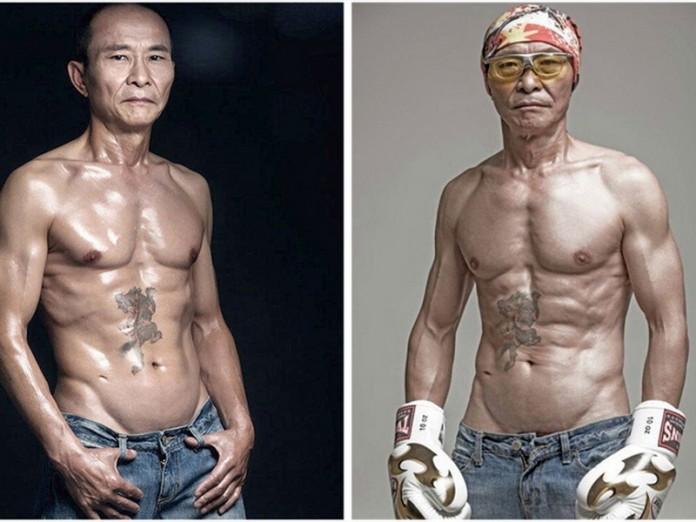 61-летний китаец, телу которого позавидует любой юноша!