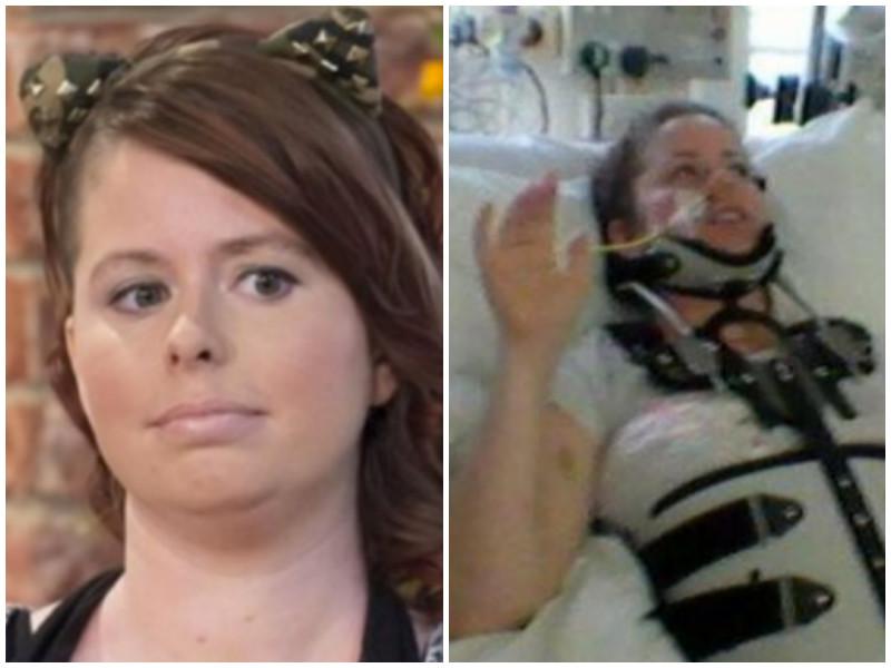 После аварии внутри этой женщины что-то начало расти. И она приказала врачам оставить все, как есть…