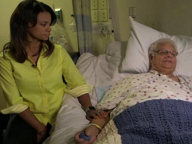 Она сутками сидела у постели умирающего отца, а дальше все произошло как в фильме