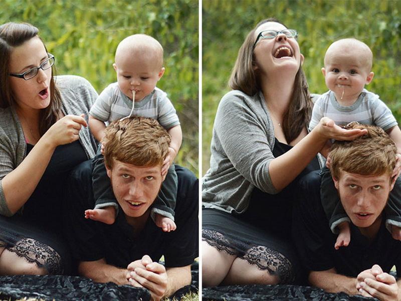 Фотосессия с младенцем: «лучшие» кадры