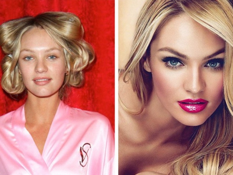 Реальная внешность «ангелов» Victoria's Secret без фотошопа и макияжа