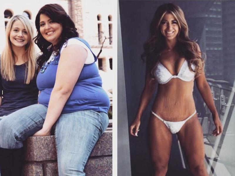 Она сбросила 60 кг за 2 года: потрясающее перевоплощение!