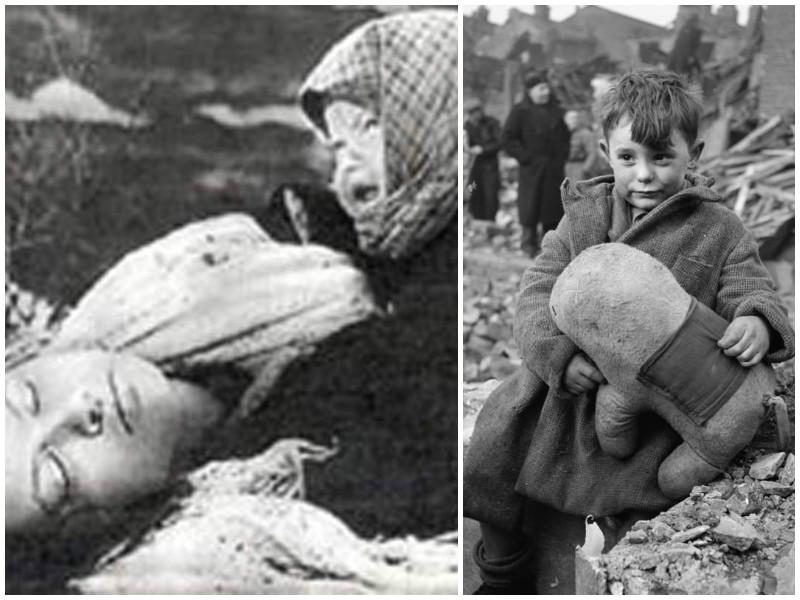 Детство, искалеченное войной