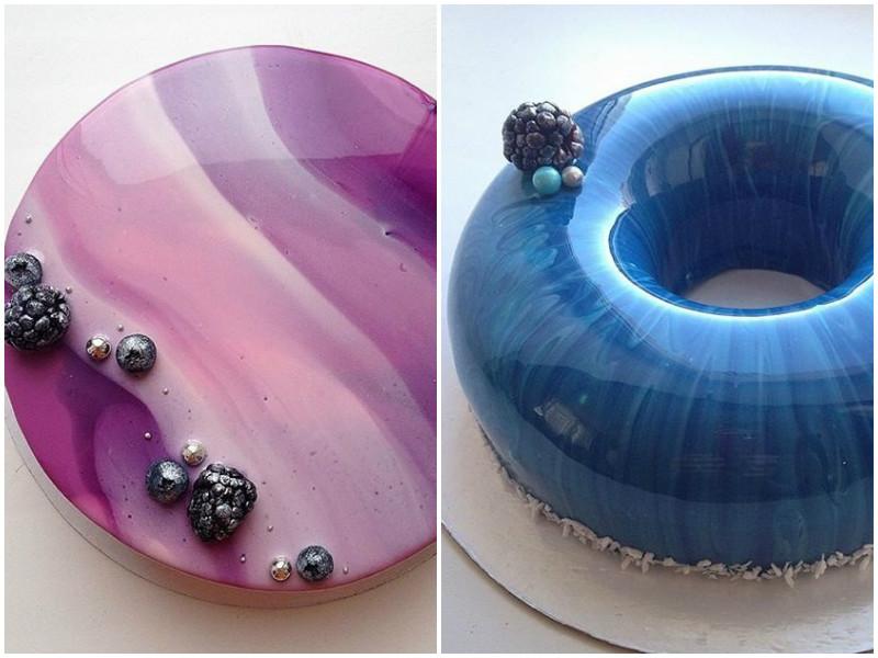 Она делает идеальные торты, которыми можно любоваться вечно!