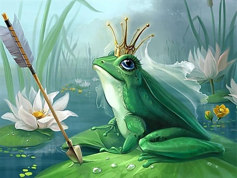 Женщина  нашла лягушку, которая исполняет желания. Ее запросы просто поразили.