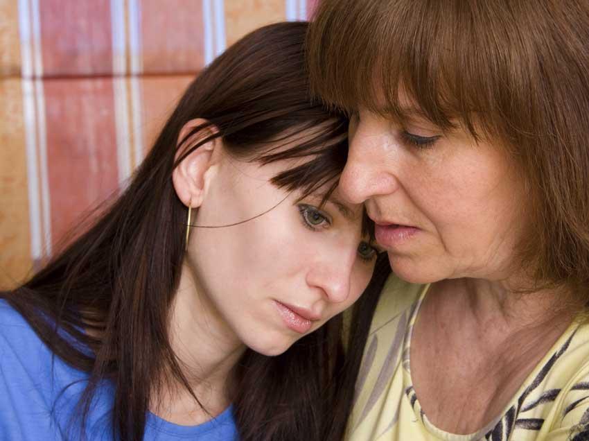 Ее дочь была на грани суицида. Но она была приятно шокирована, когда она послала ей это.