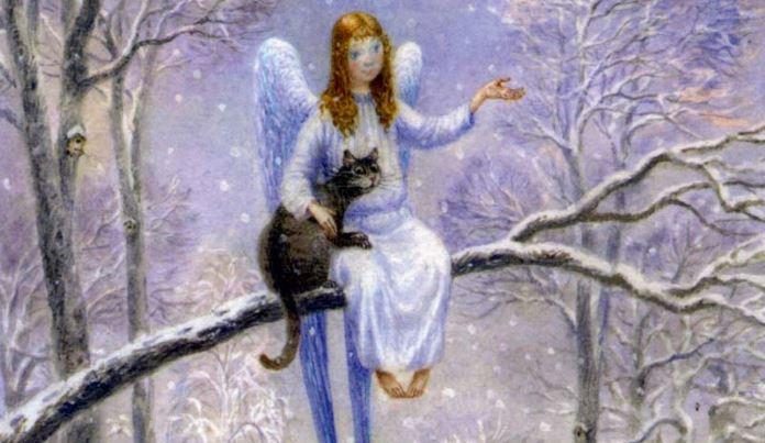 Кот и Ангел. Самая добрая сказка!