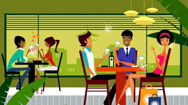 Он начал оскорблять официантку. Но девушка красиво его обломала.