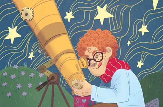 Смешной анекдот про астронома и шофёра